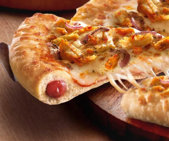Chicago Town Takeaway Limited Edition Stuffed Crust Pulled Buffalo Chicken
