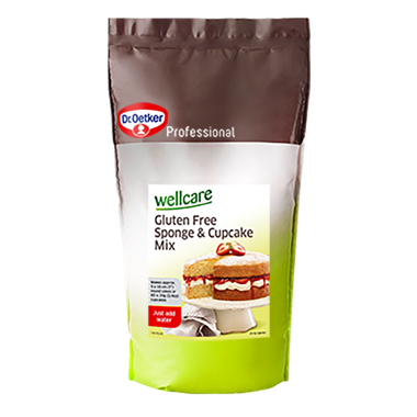 Wellcare Gluten Free Sponge and Cupcake Mix