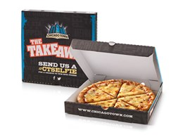 Chicago Town Takeaway Pizza Box