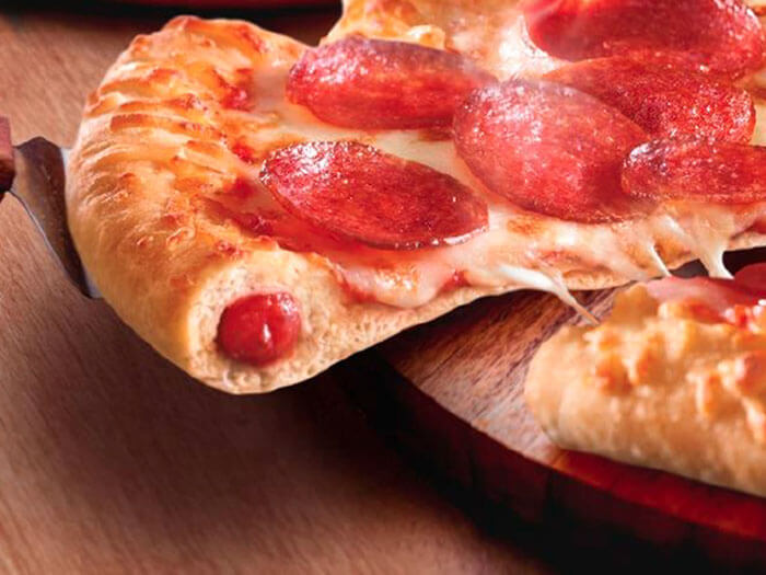 Chicago Town Takeaway Stuffed Crust Pepperoni
