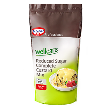 Wellcare Reduced Sugar Complete Custard Mix